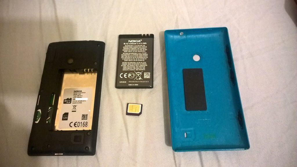 Nokia Lumia 520 ardymas
