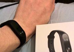 Xiaomi Mi Band 2 ant rankos