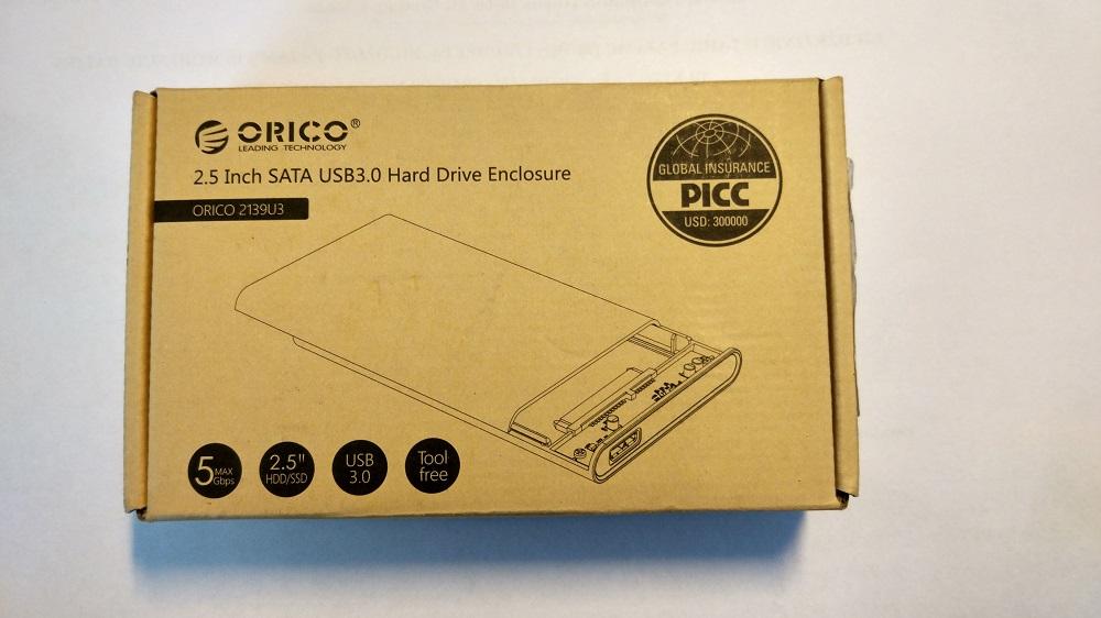 ORICO 2139U3 dėžutė