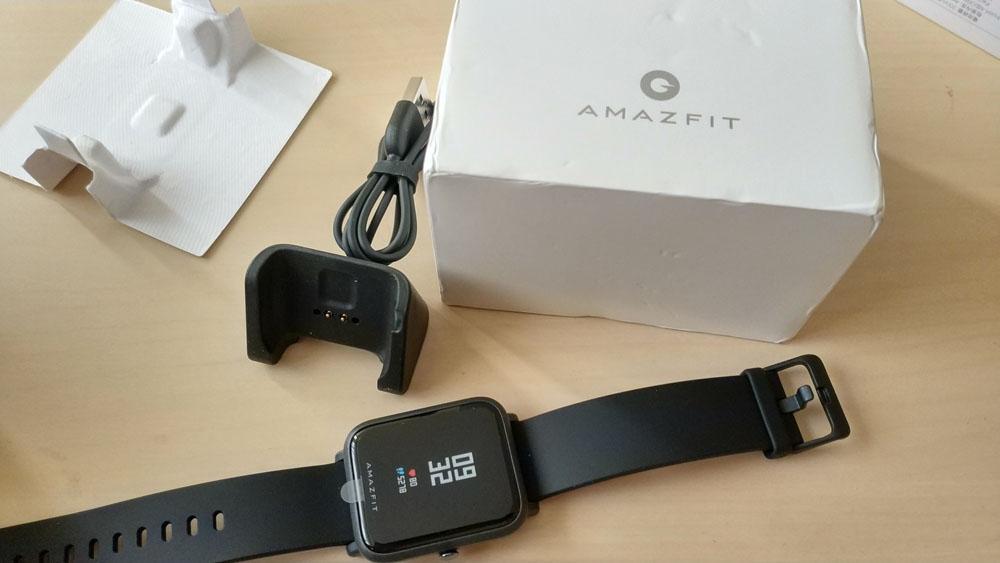 Amazfit Bip komplektacija
